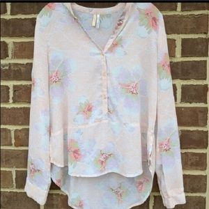 Peplum floral top Frenchi